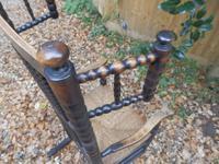 Bobbin Turned, Arts & Crafts Rocking Chair (8 of 8)