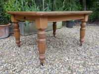 Oak Extending Table c.1920 (2 of 12)