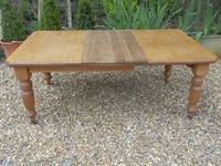 Oak Extending Table c.1920 (8 of 12)