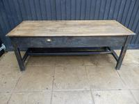 Preparation Table, Solid Oak. Victorian (3 of 11)