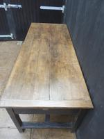 Preparation Table, Solid Oak. Victorian (2 of 11)