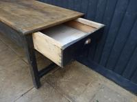 Preparation Table, Solid Oak. Victorian (6 of 11)