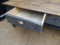 Preparation Table, Solid Oak. Victorian (7 of 11)