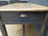 Preparation Table, Solid Oak. Victorian (9 of 11)