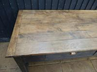 Preparation Table, Solid Oak. Victorian (10 of 11)