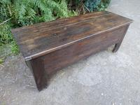 Coffer, Trunk, Chest, Dough Bin, 18th Century, Solid Oak