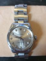 Mens Rolex Oyster Perpetual Diamond Dial Watch Wristwatch Model No. 1002 (2 of 4)