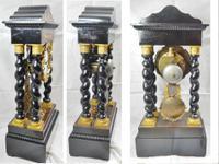 Rare Napoleon III Twisted Column Portico Clock (5 of 12)