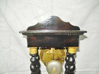 Rare Napoleon III Twisted Column Portico Clock (8 of 12)