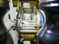 Rare Napoleon III Twisted Column Portico Clock (11 of 12)