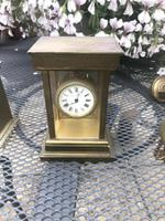 Very RAre Antique Vintage Matthew Norman London Brass Carriage Clock (2 of 5)