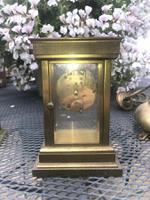 Very RAre Antique Vintage Matthew Norman London Brass Carriage Clock (3 of 5)