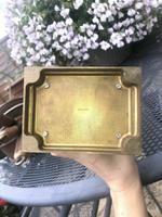 Very RAre Antique Vintage Matthew Norman London Brass Carriage Clock (4 of 5)