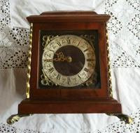 Very Rare Vintage Warmink Wuba Mantel Clock (11 of 11)