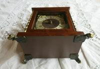 Very Rare Vintage Warmink Wuba Mantel Clock (5 of 11)
