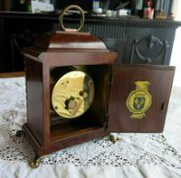 Very Rare Vintage Warmink Wuba Mantel Clock (9 of 11)