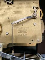Rare German Franz Hermle Tempus Fugit 2 Jewel Mantle Clock (2 of 2)