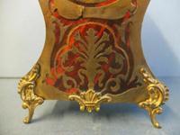 Rare Antique Boulle Gilt Clock (2 of 6)