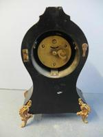 Rare Antique Boulle Gilt Clock (6 of 6)