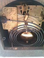 Very RAre Vintage Gustav Becker Mantel Clock in Full Working Order (6 of 6)