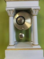 Rare Porcelain Portico Mantel Clock Franklin Mint Franz Hermle Limited Edition (5 of 7)