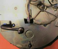 1840s RAre Antique Marti Medaille De Bronze Ebonized Ormolu Boulle Portico Clock (3 of 3)