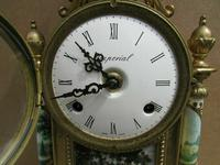 Rare Franz Hermle Imperial Ormolu Sevres Clock with Garnitures (2 of 6)