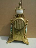 Rare Franz Hermle Imperial Ormolu Sevres Clock with Garnitures (5 of 6)