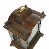 Rare Warmink Franz Hermle 2 Jewel Moonphase Bracket Mantel Clock (5 of 7)
