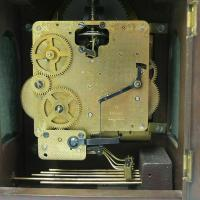 Rare Warmink Franz Hermle 2 Jewel Moonphase Bracket Mantel Clock (4 of 7)