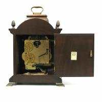 Rare Warmink Franz Hermle 2 Jewel Moonphase Bracket Mantel Clock (3 of 7)