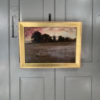 Antique Impressionist Landscape Oil Painting Signed David Murray Dated 1889 (2 of 10)