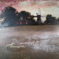 Antique Impressionist Landscape Oil Painting Signed David Murray Dated 1889 (4 of 10)
