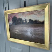 Antique Impressionist Landscape Oil Painting Signed David Murray Dated 1889 (7 of 10)