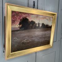 Antique Impressionist Landscape Oil Painting Signed David Murray Dated 1889 (8 of 10)