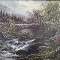 Antique Victorian River Landscape Oil Painting Signed B Stanley (5 of 10)