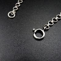 Antique Cabochon Moonstone Hinged Sterling Silver Bracelet (8 of 9)