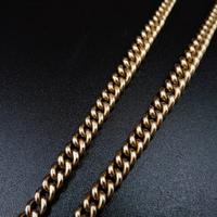 Antique 9ct 9K Gold Short Albert Watch Chain Necklace (6 of 9)
